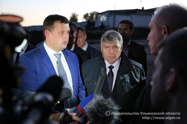 Глава администрации Ульяновска Алексей Гаев (слева) и мэр Ульяновска Сергей Панчин )справа).