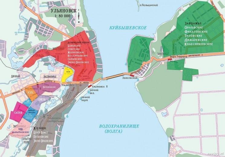 карта опг ульяновск