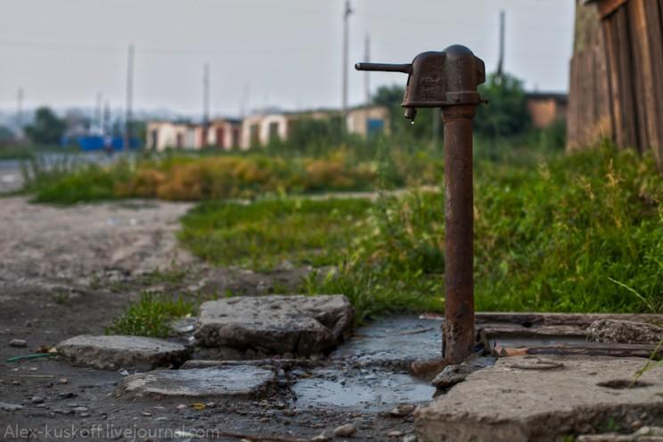 вода колонка
