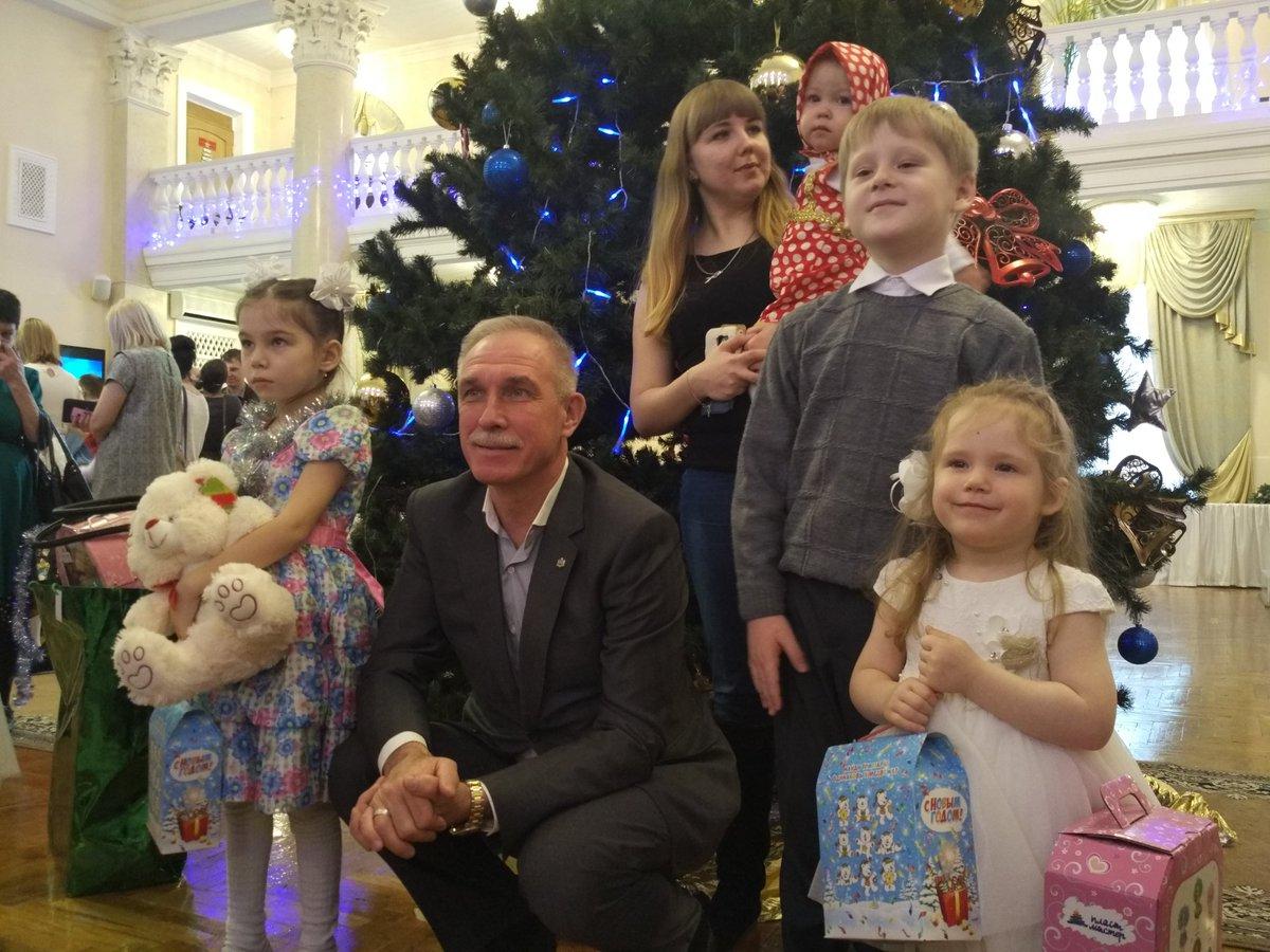Новогоднее обращение губернатора Ульяновской области Сергея Морозова