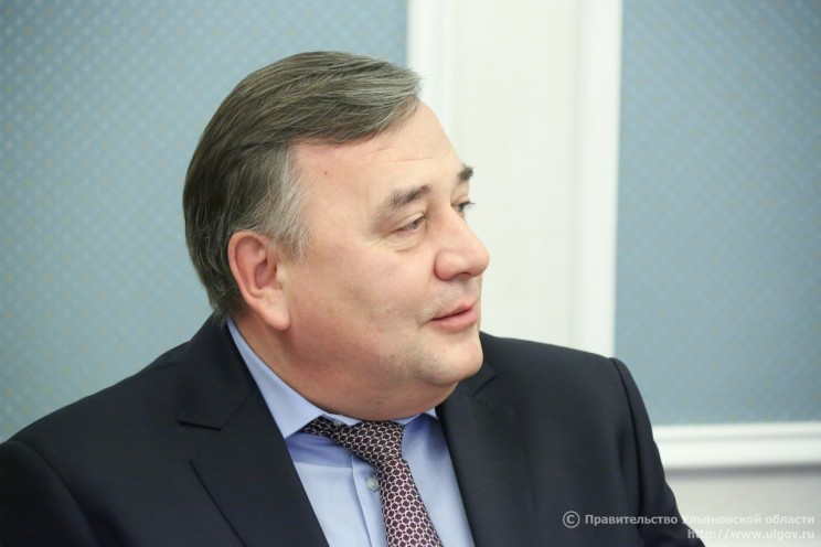 Начальник УВД по Ульяновской области Юрий Варченко во время отчета в Законодательном собрании Ульяновской области.