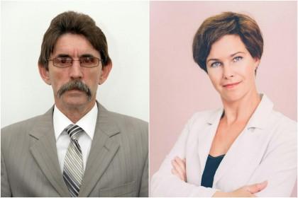 Александр Букин (слева) и Елена Филиппова (справа).
