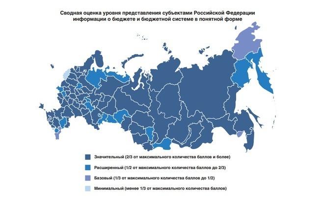 Ульяновская область вошла в группу регионов со средней открытостью данных по бюджету в рейтинге Минфина РФ 2