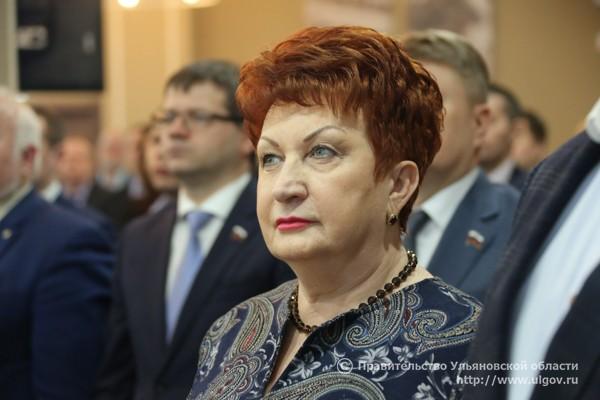 Ректор УлГПУ, председатель Общественной палаты Ульяновской области Тамара Девяткина.