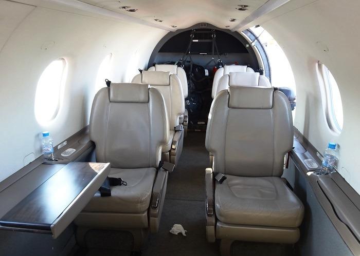 Pilatus PC-12 кабина