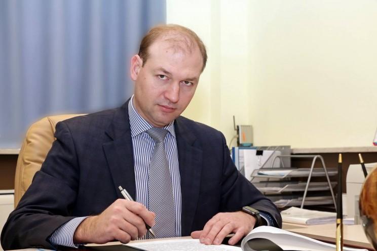 Министр сельского, лесного хозяйства и природных ресурсов Ульяновской области Михаил Семенкин.