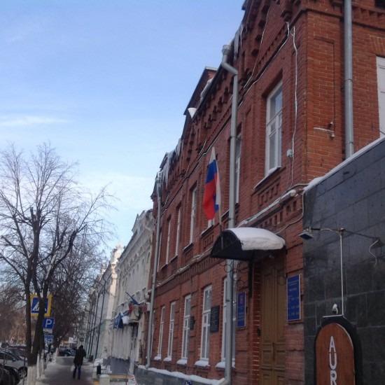 Прокуроры обнаружили сосульки и снежные навесы в центре Ульяновска