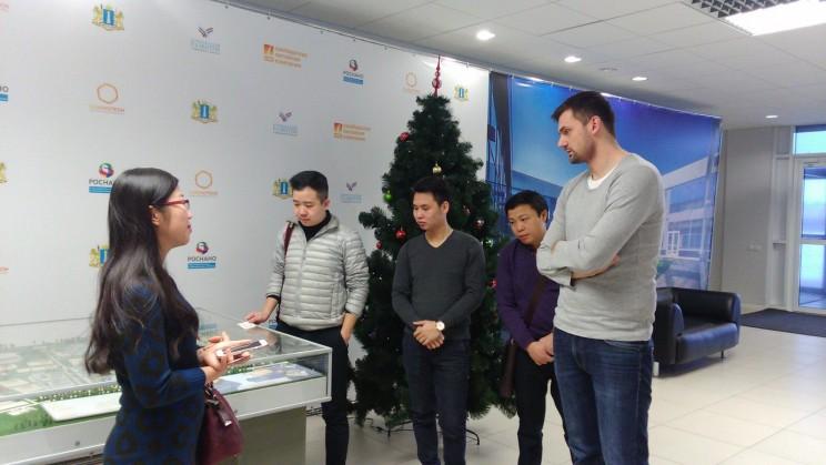 Журналисты из Вьетнама на ульяновской земле