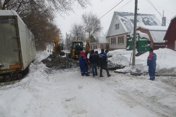 В Димитровграде аварийно ограничена подача воды