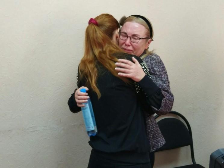 Алсу Балакишиева с дочерью