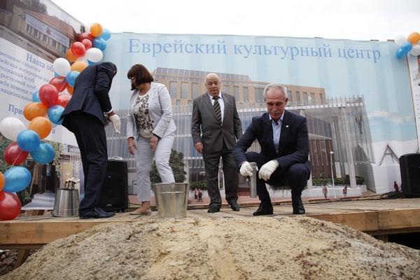 Еврейский культурный центр в Ульяновске опять начнут строить 1 Беспалова Штернфельд Морозов