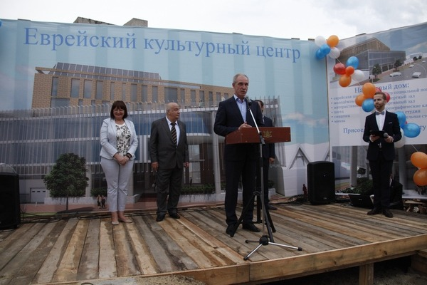 Еврейский культурный центр в Ульяновске опять начнут строить 2 Беспалова Штернфельд Морозов