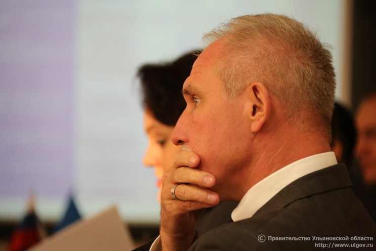 Губернатор Ульяновской области Сергей Морозов.