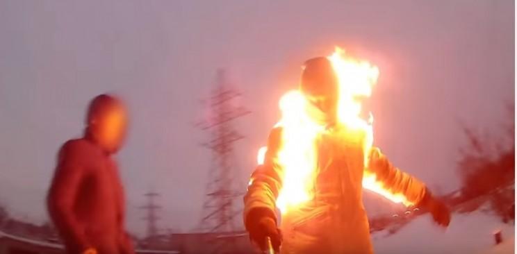 Ульяновский горе-поджигатель