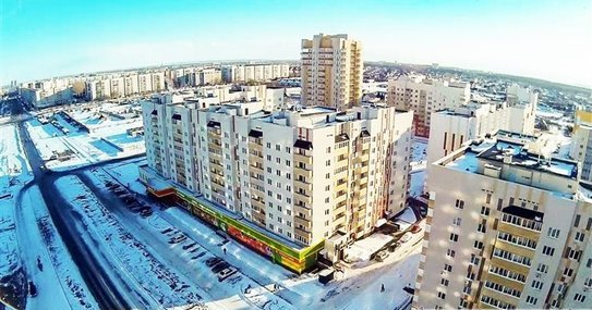 Проспект Ливанова, Заволжский район Ульяновска.