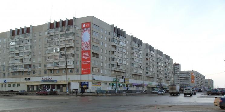 проспект Ульяновский Заволжский район Ульяновск
