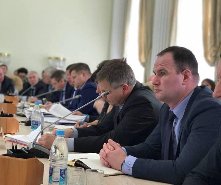 Алексей Кошаев, мэр Димитровграда.