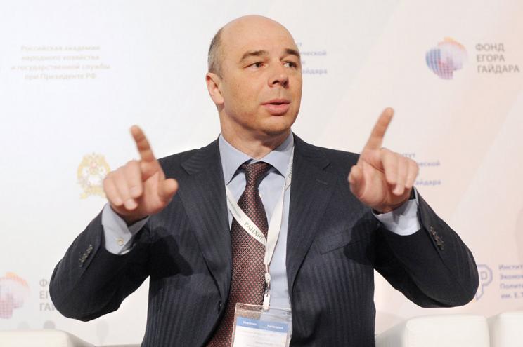 Антон Силуанов, министр финансов России.