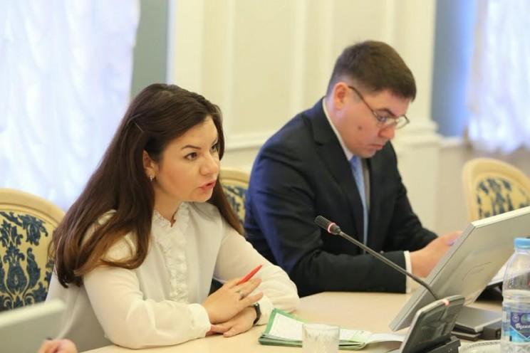 Екатерина Толчина, уполномоченная по защите прав предпринимателей в Ульяновской области.