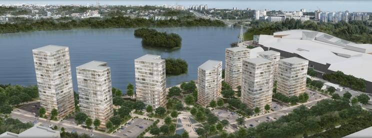 Проект комплексного освоения территории поймы реки Свияга с рекреационной зоной и жилой застройкой
