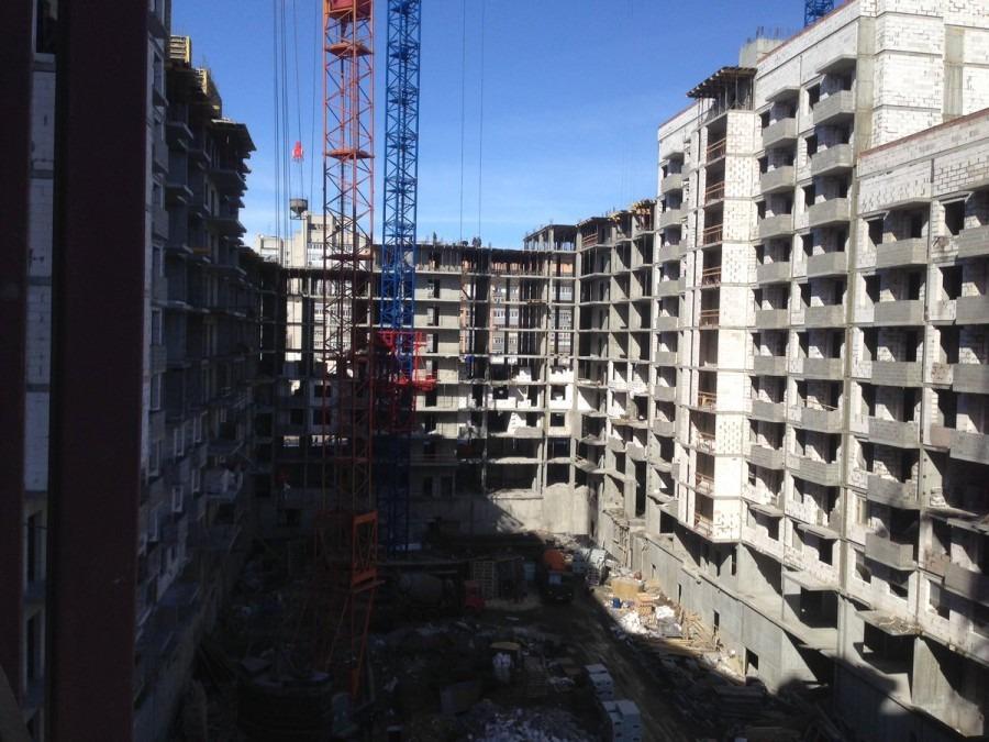 При строительстве ЖК «Пионер-парк» в центре Ульяновска рабочий получил тяжелую травм