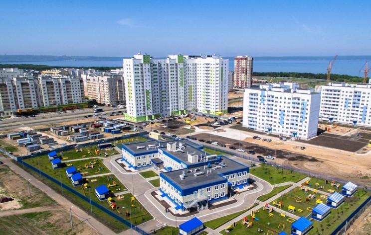 """Строительный квартал """"Центральный"""" в Заволжском районе Ульяновска."""