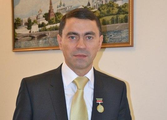 Депутат Законодательного собрания Ульяновской области Ферид Аюпов.