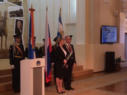 Заместитель Губернатора Ольга Никитенко награждена почётным знаком Ульяновской области «За веру и добродетель», январь 2017 года.