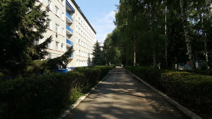 Центральная клиническая медсанчасть в Ульяновске.