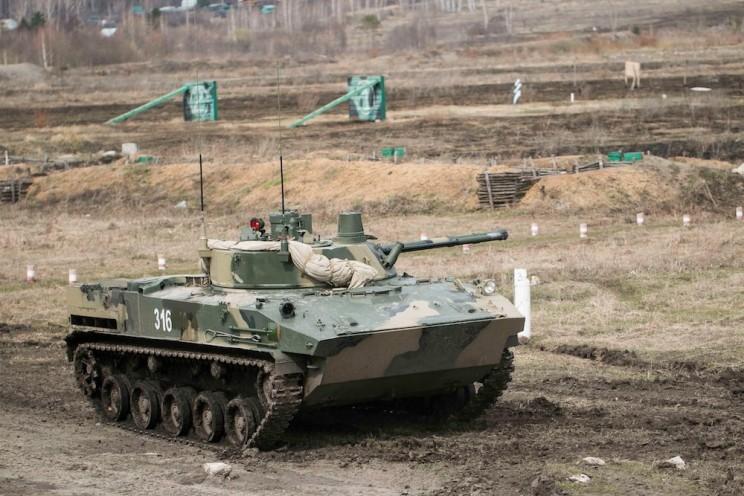 Ульяновские десантники испытали новейшие бронемашины
