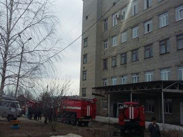 пожар барышская районная больница