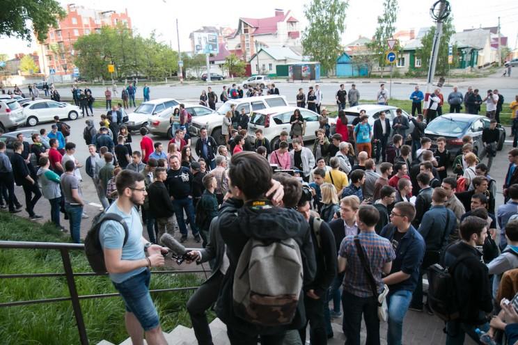 Алексей Навальный в Ульяновске: открытие предвыборного штаба 1