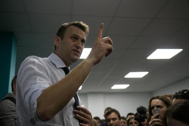 Алексей Навальный в Ульяновске: открытие предвыборного штаба 12