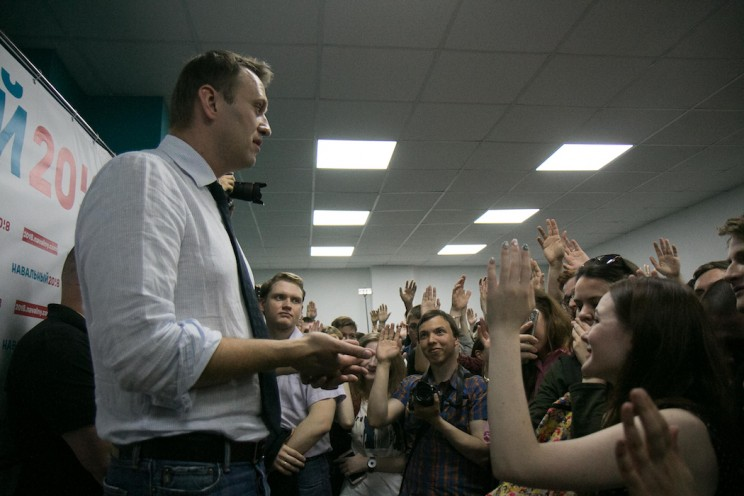 Алексей Навальный в Ульяновске: открытие предвыборного штаба 13