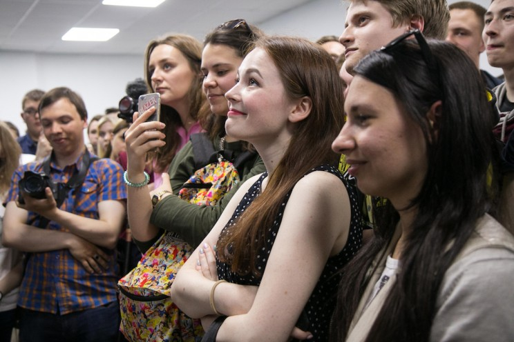 Алексей Навальный в Ульяновске: открытие предвыборного штаба 14