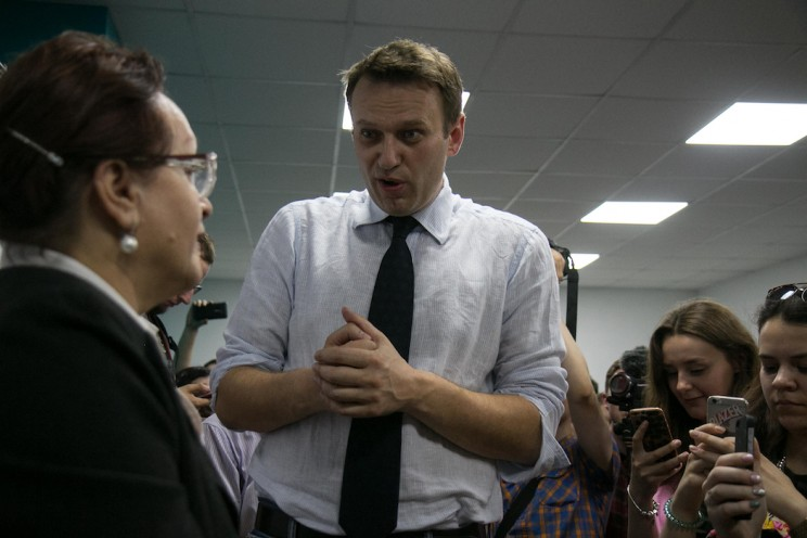Алексей Навальный в Ульяновске: открытие предвыборного штаба 17