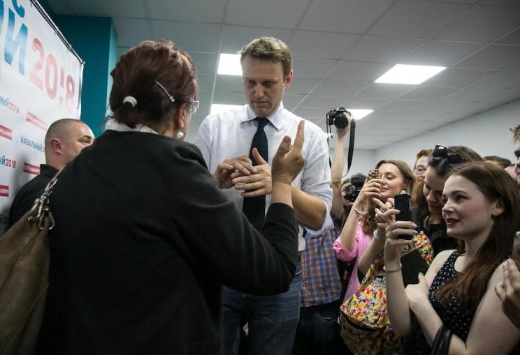 Алексей Навальный в Ульяновске: открытие предвыборного штаба 18