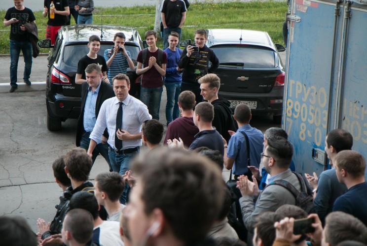 Алексей Навальный в Ульяновске: открытие предвыборного штаба 2
