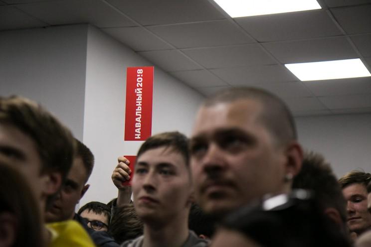 Алексей Навальный в Ульяновске: открытие предвыборного штаба 21