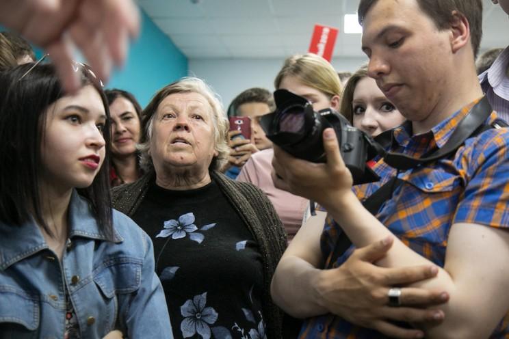 Алексей Навальный в Ульяновске: открытие предвыборного штаба 23