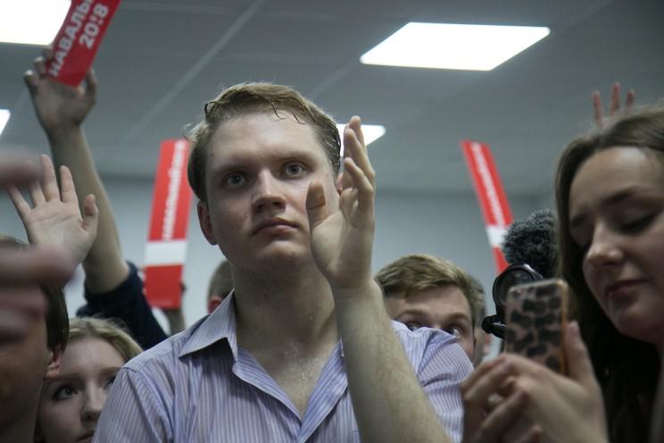 Алексей Навальный в Ульяновске: открытие предвыборного штаба 25
