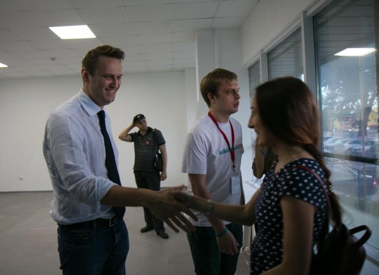 Алексей Навальный в Ульяновске: открытие предвыборного штаба 3