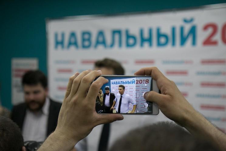 Алексей Навальный в Ульяновске: открытие предвыборного штаба 31