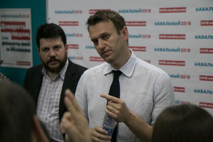 Алексей Навальный в Ульяновске: открытие предвыборного штаба 32