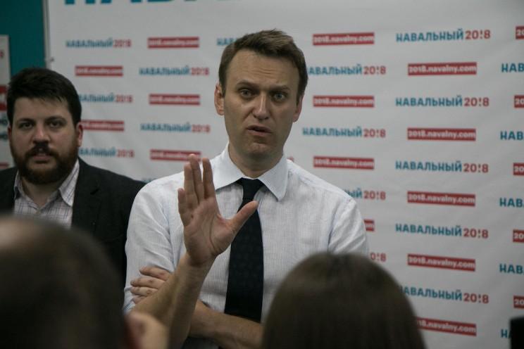 Алексей Навальный в Ульяновске: открытие предвыборного штаба 33