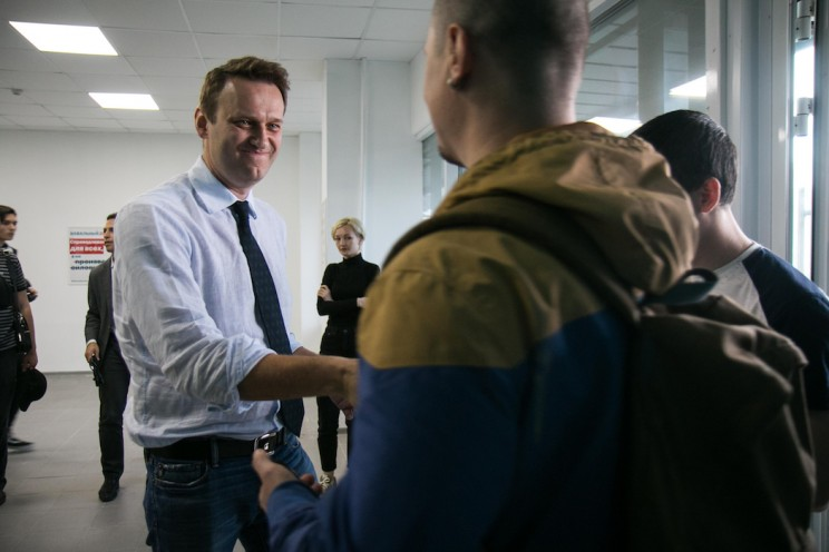 Алексей Навальный в Ульяновске: открытие предвыборного штаба 4