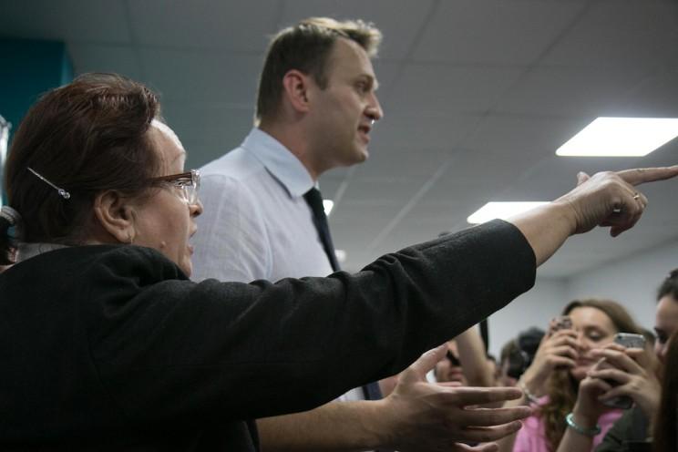 Алексей Навальный открыл штаб в Ульяновске 40