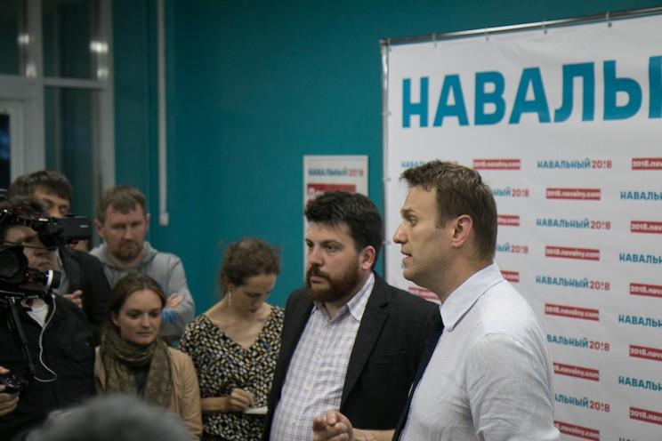 Алексей Навальный открыл штаб в Ульяновске 43