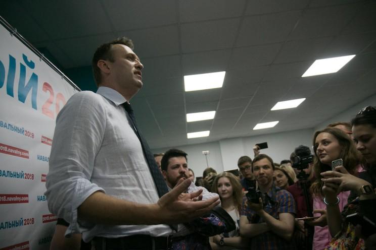 Алексей Навальный в Ульяновске: открытие предвыборного штаба 8