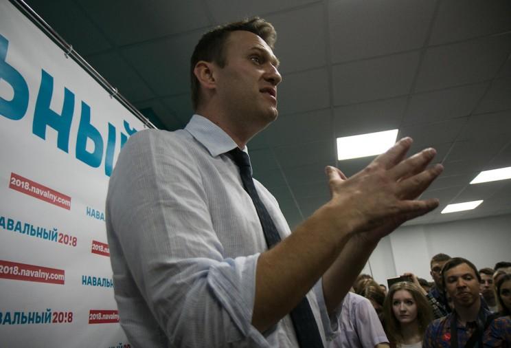 Алексей Навальный в Ульяновске: открытие предвыборного штаба 9